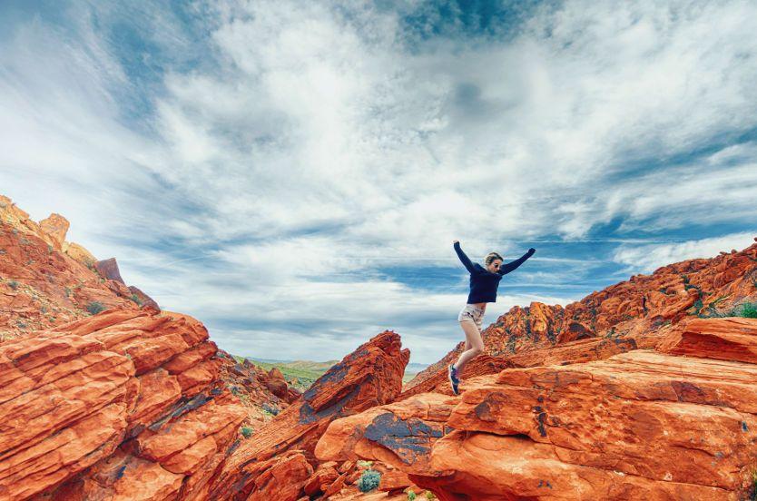 Frases de superación de retos en la montaña