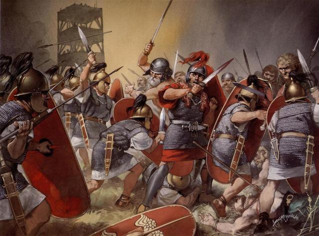 Invasión romana en españa
