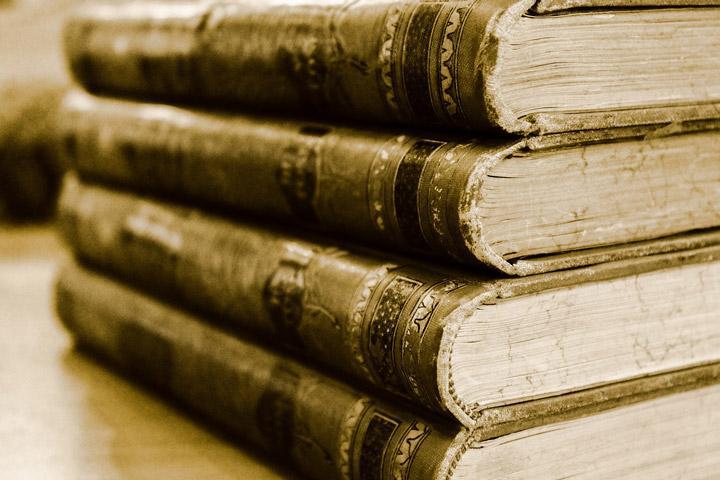 Libros de lectura antiguos