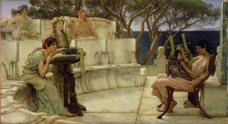 La literatura en grecia