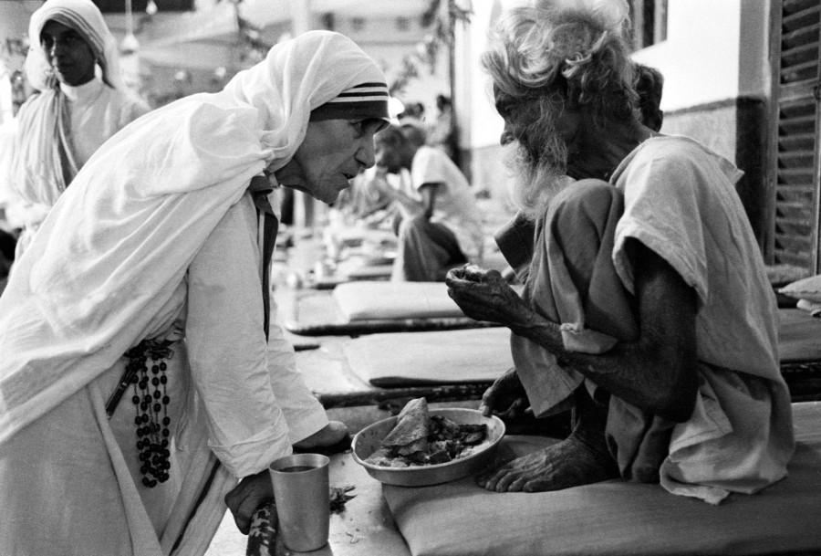 Madre teresa de calcuta en Varanasi