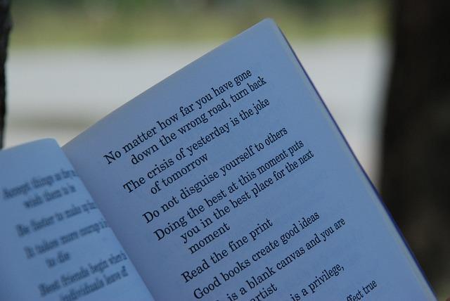 Origen de la poesía escrita