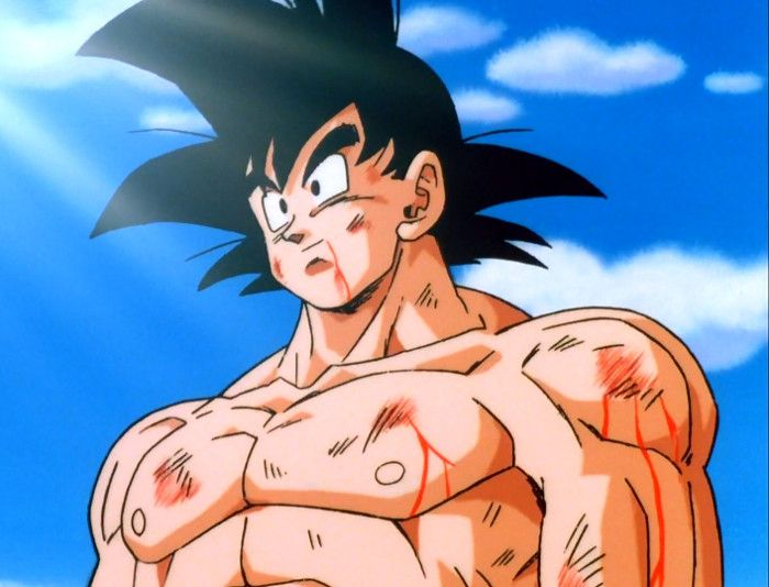 Son Goku en Dragon ball pelicula