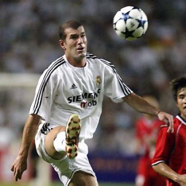 Biografía de Zinedine Zidane
