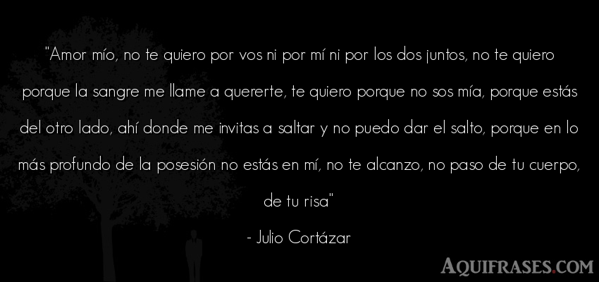 Julio Cortazar Frases Amor Unifeed Club