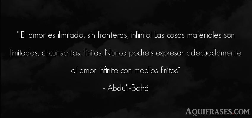 El Amor Es Ilimitado Sin Fronteras Infinito Las