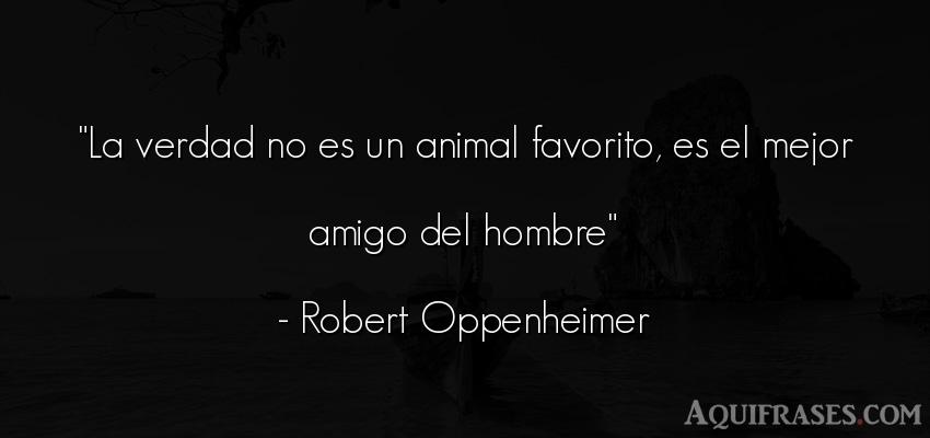 Oppenheimer frases