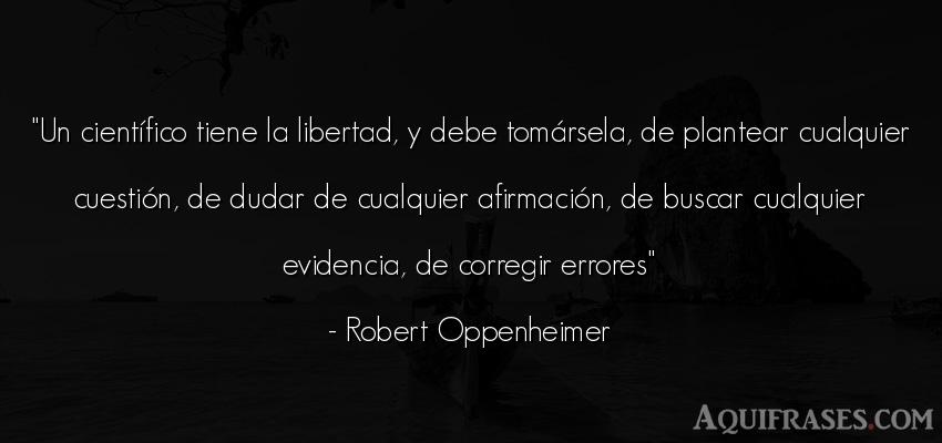 Robert oppenheimer frases